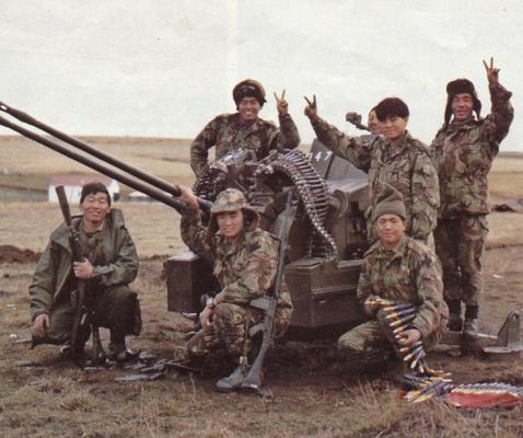 Gurkhas in the Falklands War 1982