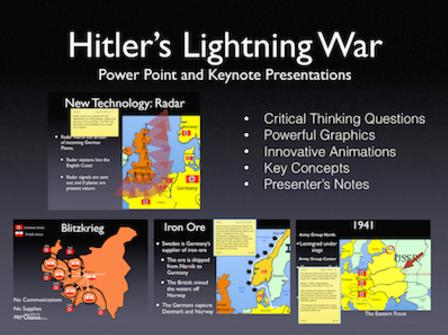 WWII: Hitler's Lightning War PowerPoint