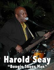 Harold Seay, Boogie Shoes Man Live Music