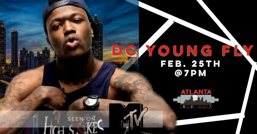 DC YOUNG FLY wild n out MTV Uptown Comedy Atlanta Comedy