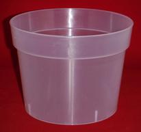 Clear Plastic Orchid Pots large small extra ventilation drainage holes repot best