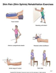 Shin Splints Exercises by Mississauga Podiatrist