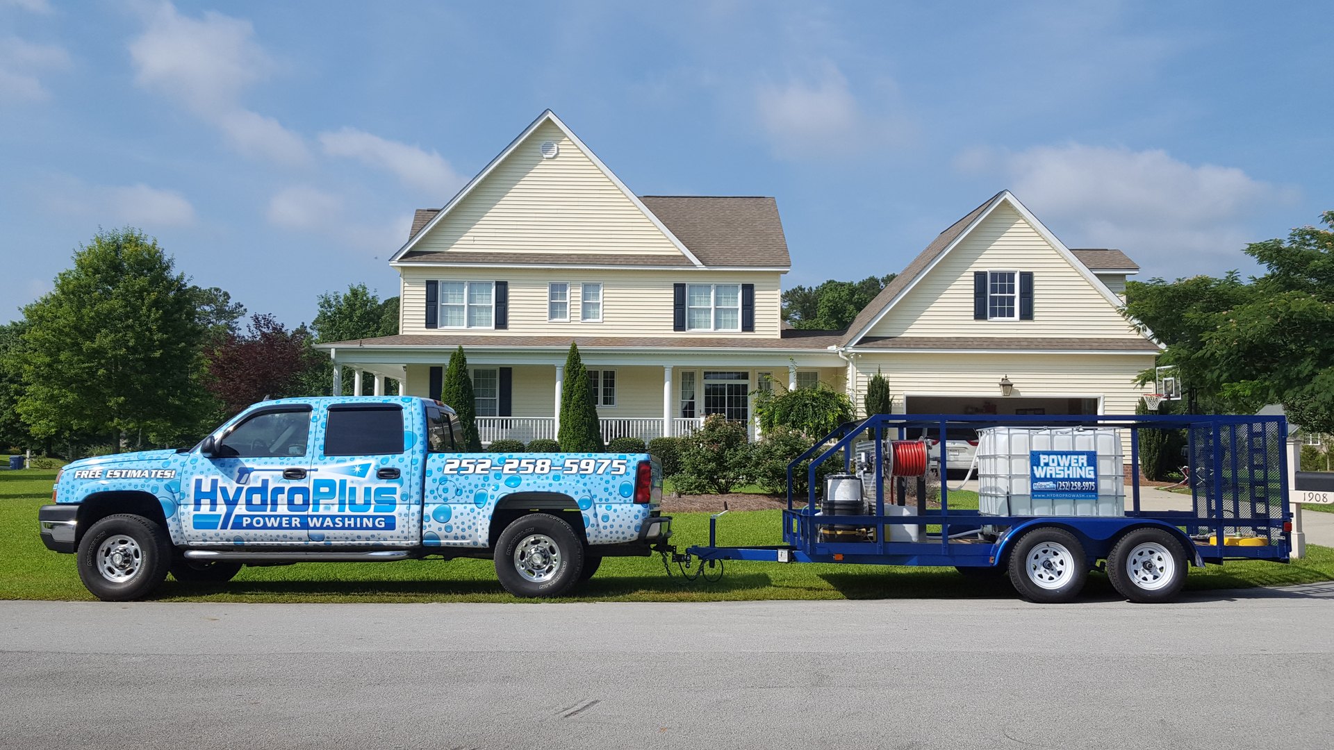 hydroplus power washing in greenville nc estimates call today