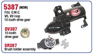 AR5387 Starter for Johnson and Evinrude outboard motor