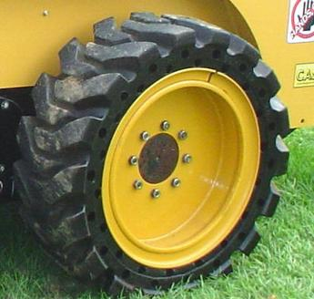 Solid Skid Steer Tires Advance Tire