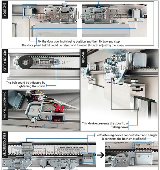Heavy Duty Electric Sliding Door Operator Automatic