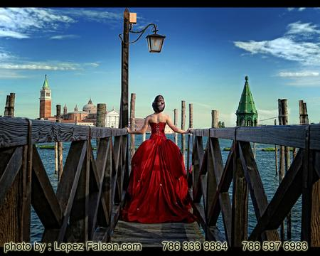 VENICE quinceanera photography