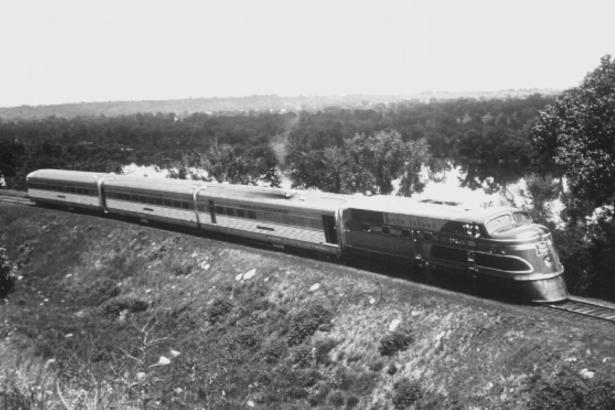 The EMC TA Diesel Locomotive