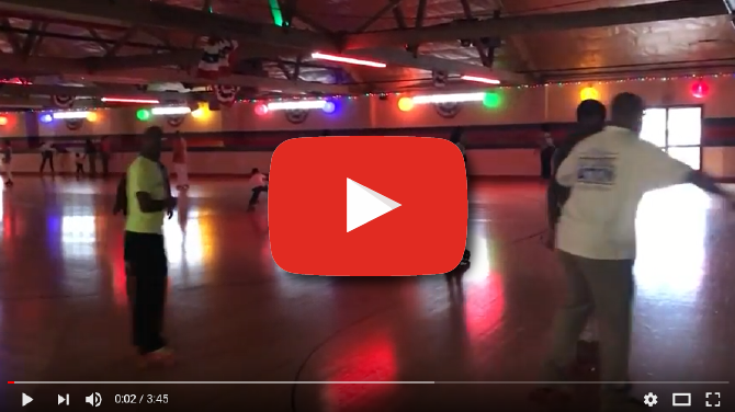 Church Outing: Roller Skating