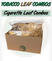 Roll Your Own / Make Your Own Cigarettes Whole Leaf Tobacco Kits - Brightleaf Combo