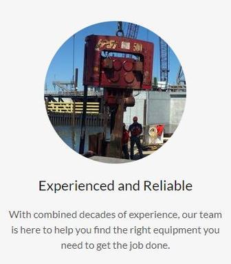J&G Sales - Pile Driving Equipment, Pile Driver, Excavator, Piles