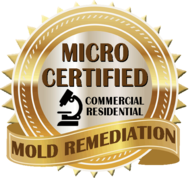Micro Certified Mold Remediation for Commercial and Residential