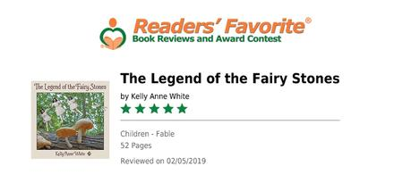 Reader's Favorite 5-Star Review, Legend of the Fairy Stones