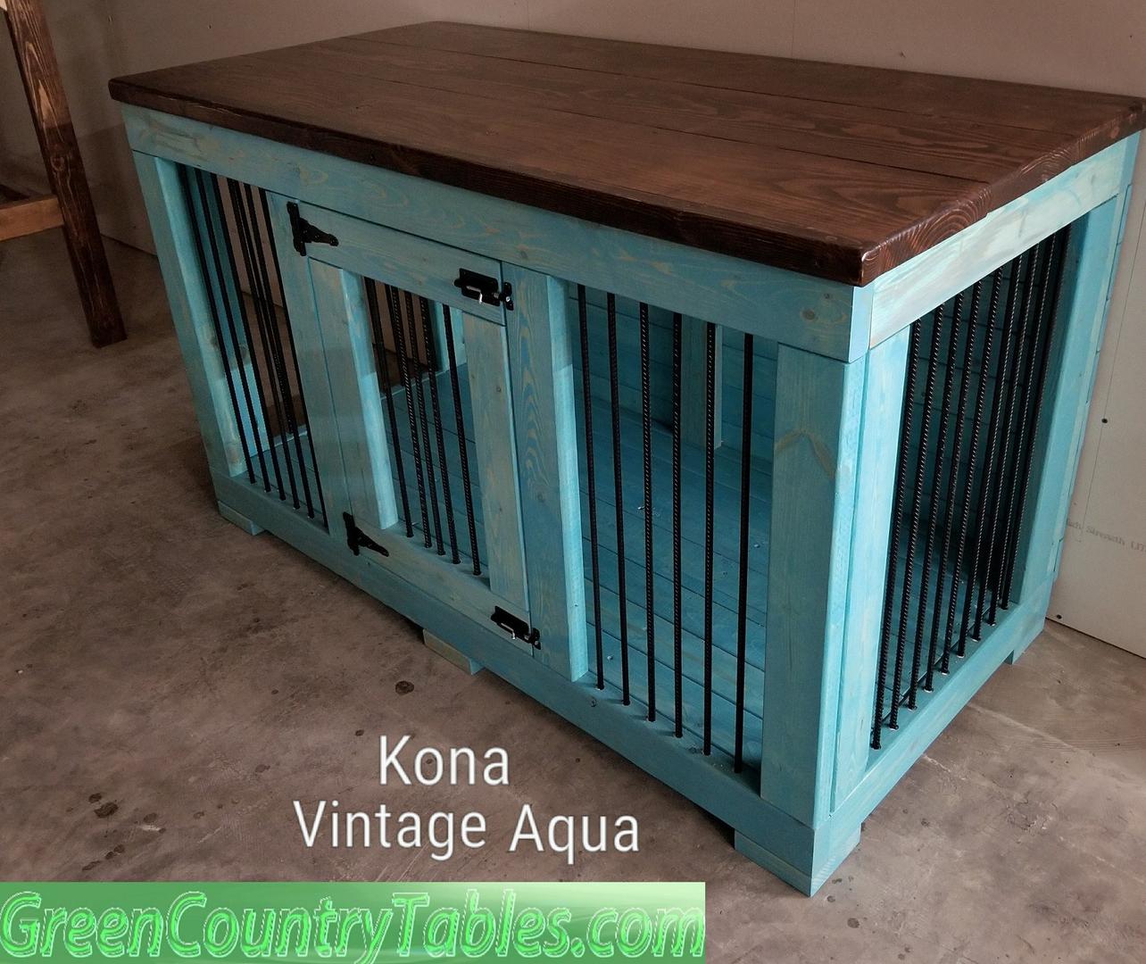 Desks, Bookshelves, Kitchen Islands Rustic Dog Crate covers, Kennels ...