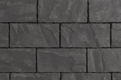 Unilock Concrete Paver in Westport Easyclean in Midnight Charcoal Color
