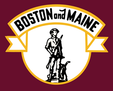 Boston & Maine Minute Man herald.