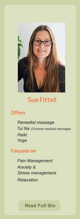 Sue Fittall, practitioner at Ondol Clinic, Toowong, Brisbane