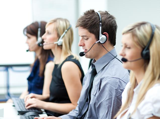 contact centre voice training