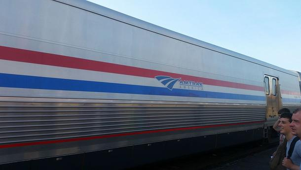 A Viewliner Baggage Car.