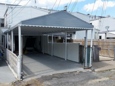 Aluminum porch awning long island