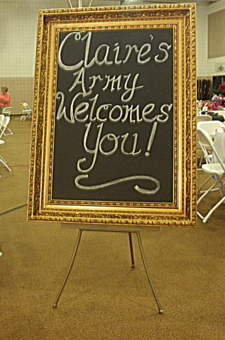 Gold giant chalkboard rental at Rent Your Event, LLC