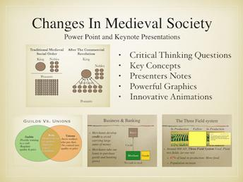 Changes In Medieval Society History Presentation