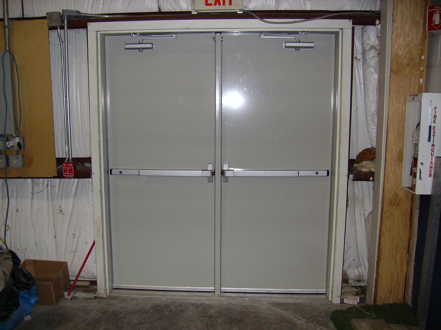 Hollow Metal Doors and Custom Fabrications | National Systems Inc. |