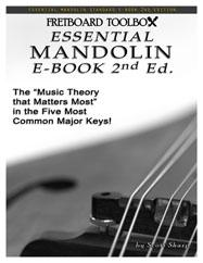 Essential Mandolin E-Book Fretboard Toolbox