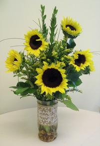 NB-SUNU1 Sunflowers, Solidago