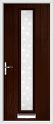 1 Strip Composite Door bubbles glass