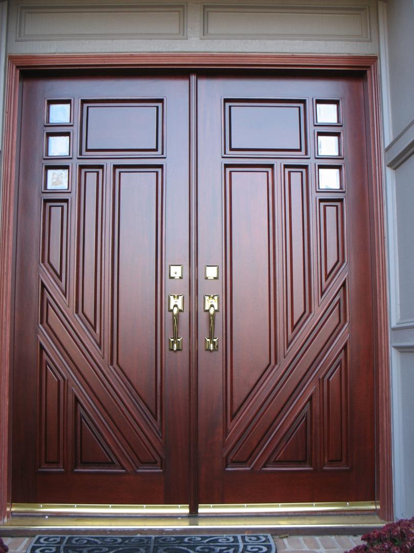 How To how to refinish front door images : Wood Door Refinishing Service for the Birmingham, MI, Area