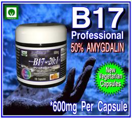 Vitamin B17 Professional 50% Amygdalin