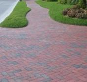 massachusetts driveway with pine hall brick pathway paver by stiles and hart