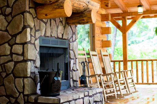 Luxury Lodge With Hot Tub In Hocking Hills Liberty Log