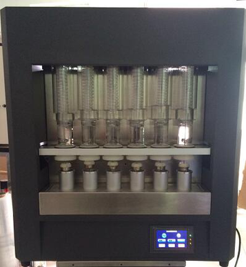 the photo of ST11 crude fiber tester for maize flour processing line