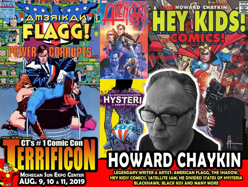 HOWARD CHAYKIN TERRIFICON