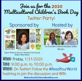 Twitter Party 2020 #ReadYourWorld