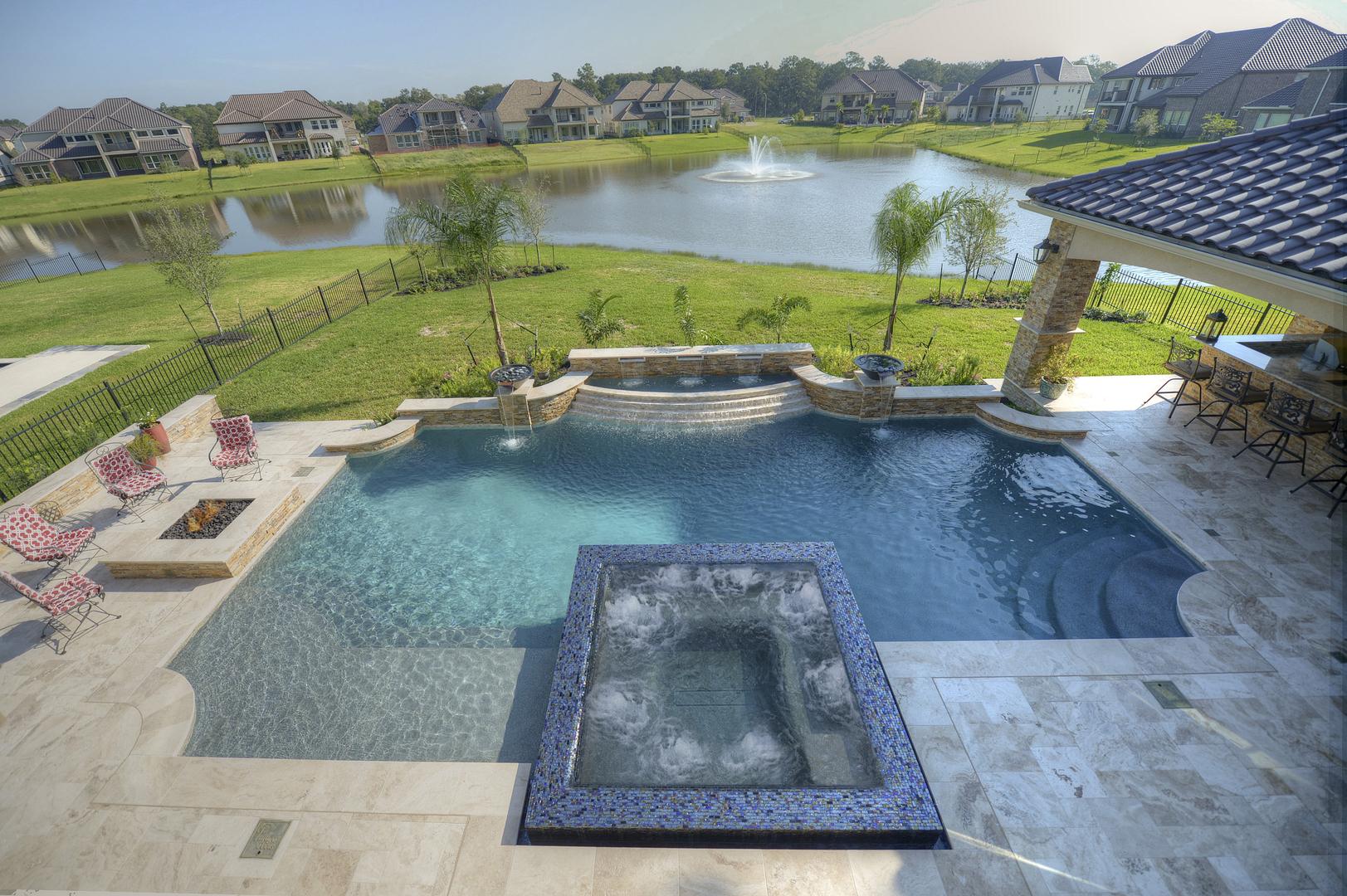 Custom Pool Builders In Houston Tx Paragon Pools