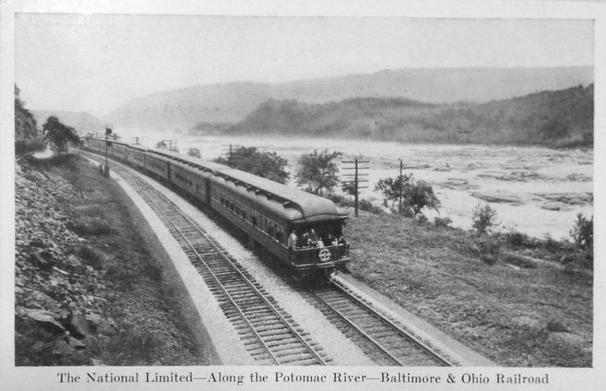 The National Limited, circa 1928.