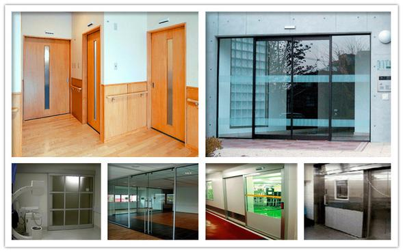 magnetic automatic sliding doors
