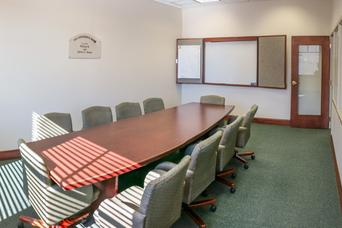 The Conference Room at Hatch Public Library