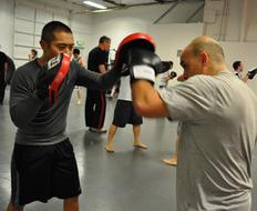 Boxing and Filipino Boxing Training