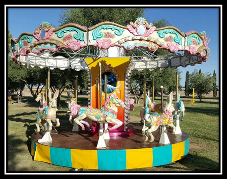 carousel at fair