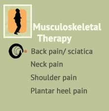 Musculoskeletal therapy & Remedial massage, Back pain & sciatica, Neck pain, Shoulder pain, Injuries, Plantar heel pain at Ondol Clinic, Toowong