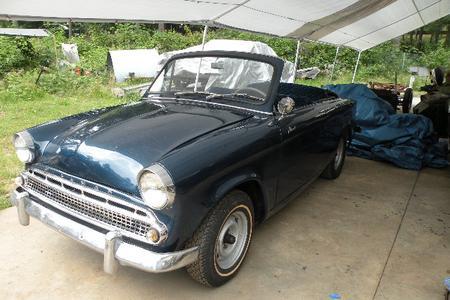 1959 Hillman Minx Convertible Restomod