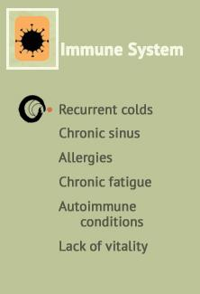 Help with Recurrent colds, Chronic sinus, Allergies, Chronic fatigue & Autoimmune conditions