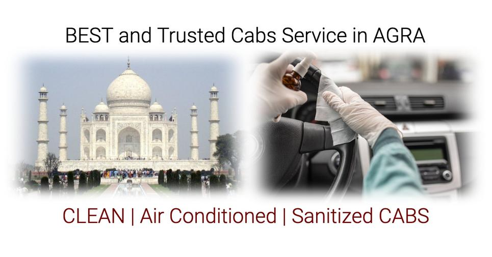 Best and Trusted Taxi,Cab Service in Agra for Outstation