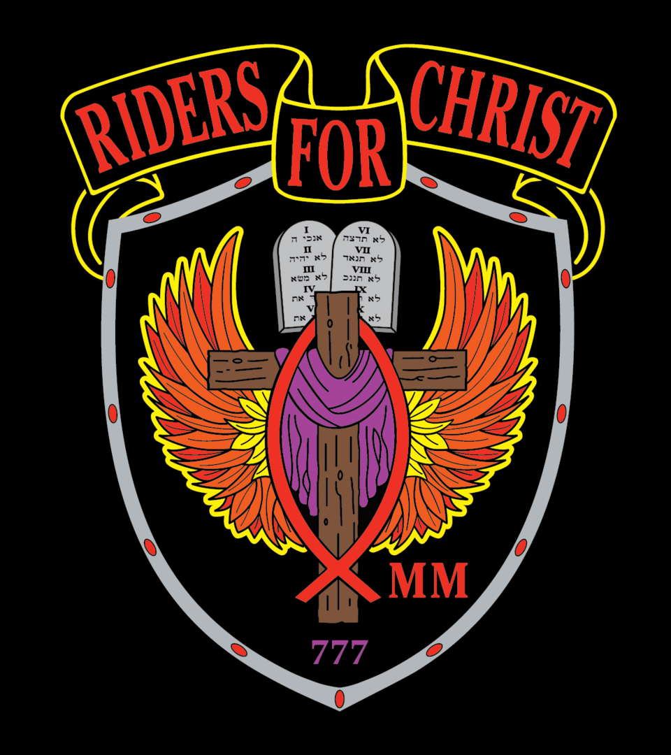 Rfcmm patch black symbolizes jesus death on the cross and that we are to be dead to sin and alive to christ biocorpaavc