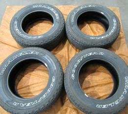 SET OF FOUR HANCOOK TIRES 255/45R20