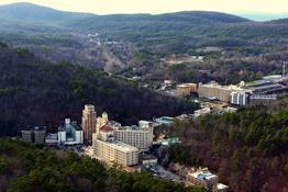 Hot Springs Village Real Estate, Downtown Hot Springs Arkansas